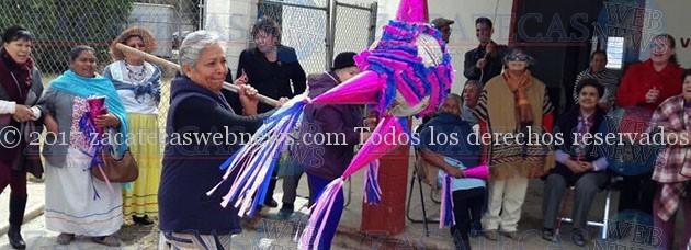 OFRECE VOLUNTARIADO DEL TSJEZ POSADA NAVIDEÑA A INTEGRANTES DEL CLUB LA DIVINA PROVIDENCIA