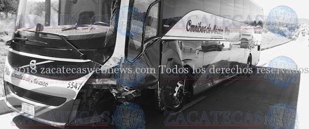 FATAL ACCIDENTE EN LA AUTOPISTA ZACATECAS- AGUASCALIENTES
