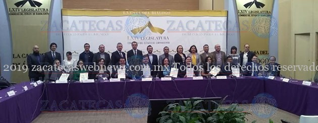 FIRMAN CONVENIO DEL SISTEMA INTEGRAL DE GESTIÓN DOCUMENTAL LEGISLATURAS DE GTO Y ZAC.